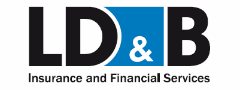 The logo for LD&B Insurance and Financial Services.