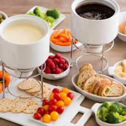 Fondue meal for 6-8 people